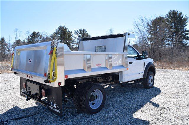 2019 F-550 Regular Cab DRW 4x4,  Iroquois Dump Body #K290 - photo 1