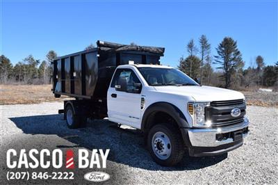 2019 F-550 Regular Cab DRW 4x4,  Switch N Go Drop Box Landscape Dump #K371 - photo 1