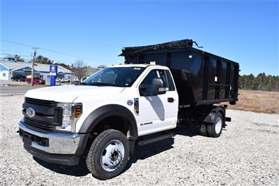 2019 F-550 Regular Cab DRW 4x4,  Switch N Go Drop Box Landscape Dump #K371 - photo 4