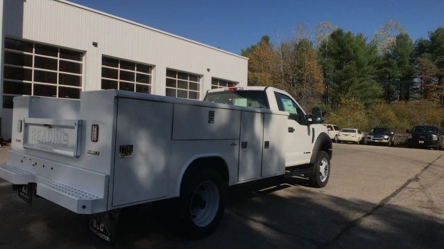 2019 F-550 Regular Cab DRW 4x4, Reading Classic II Steel Service Body #K800 - photo 2