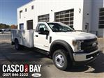 2019 F-550 Regular Cab DRW 4x4, Reading Classic II Steel Service Body #K800 - photo 1