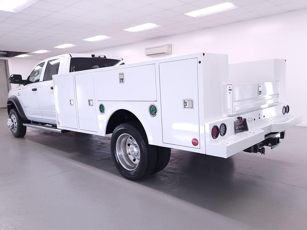 2021 Ram 4500 Crew Cab DRW 4x4, Warner Service Body #DT010716 - photo 1