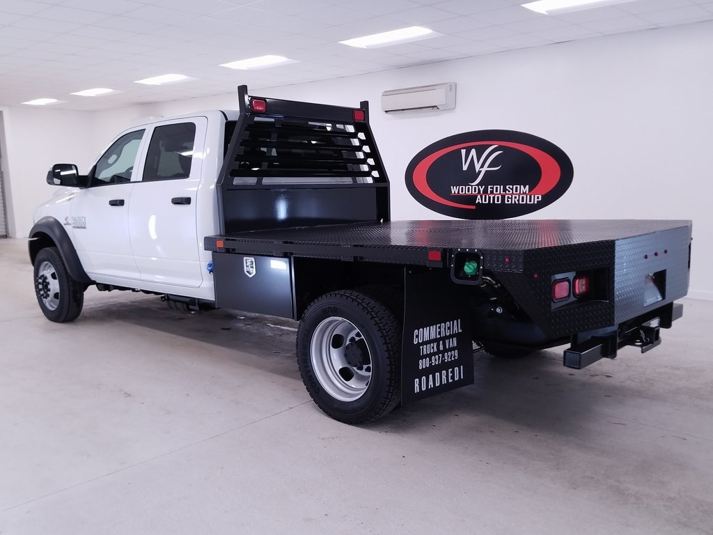 2018 Ram 4500 Crew Cab DRW 4x4,  Commercial Truck & Van Equipment Platform Body #DT011092 - photo 2