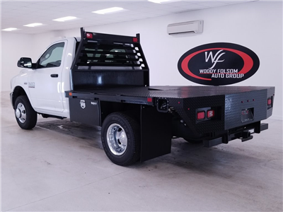 2018 Ram 3500 Regular Cab DRW 4x4,  Commercial Truck & Van Equipment CTVE Goosenecks Platform Body #DT011682 - photo 2
