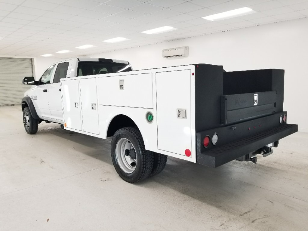 2018 Ram 4500 Crew Cab DRW 4x4,  Warner Service Body #DT011685 - photo 2