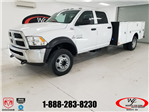 2018 Ram 4500 Crew Cab DRW 4x4,  Warner Service Body #DT011685 - photo 1