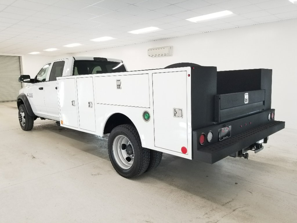 2018 Ram 4500 Crew Cab DRW 4x4,  Warner Service Body #DT011686 - photo 2