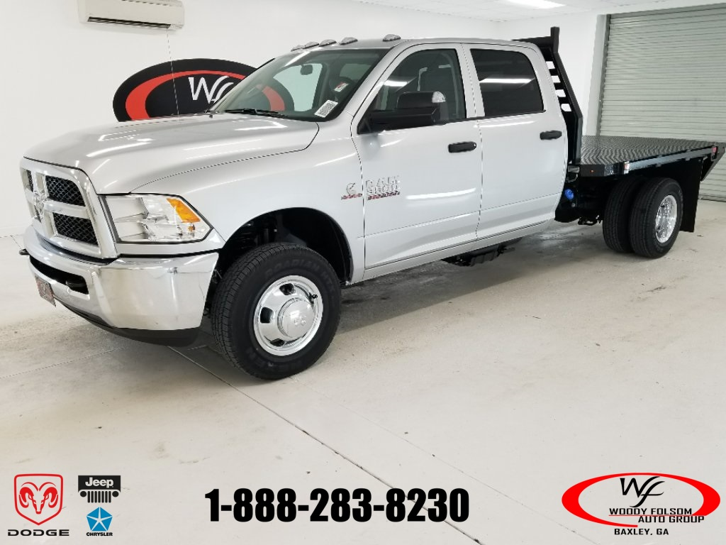 2018 Ram 3500 Crew Cab DRW 4x4,  Commercial Truck & Van Equipment Platform Body #DT012285 - photo 1