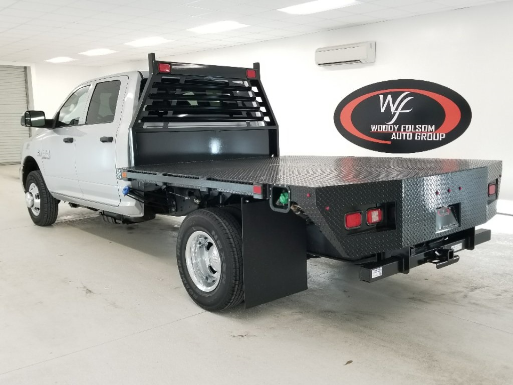 2018 Ram 3500 Crew Cab DRW 4x4,  Commercial Truck & Van Equipment Platform Body #DT012285 - photo 2