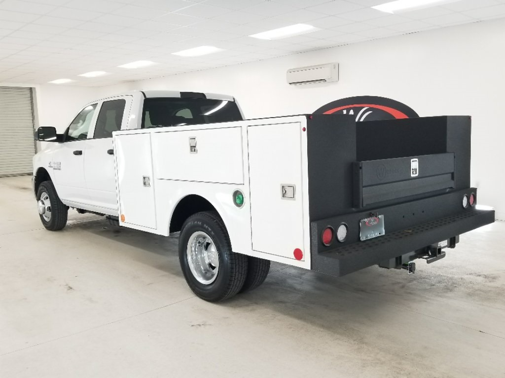 2018 Ram 3500 Crew Cab DRW 4x4,  Warner Service Body #DT012982 - photo 2