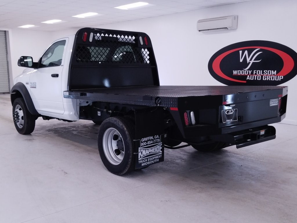 2017 Ram 4500 Regular Cab DRW 4x2,  Knapheide Platform Body #DT020673 - photo 2