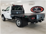 2018 Ram 3500 Regular Cab DRW 4x2,  Commercial Truck & Van Equipment CTVE Goosenecks Platform Body #DT022081 - photo 2