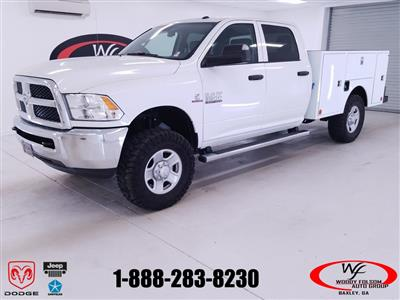 2017 Ram 3500 Crew Cab 4x4,  Warner Select II Service Body #DT022477 - photo 1