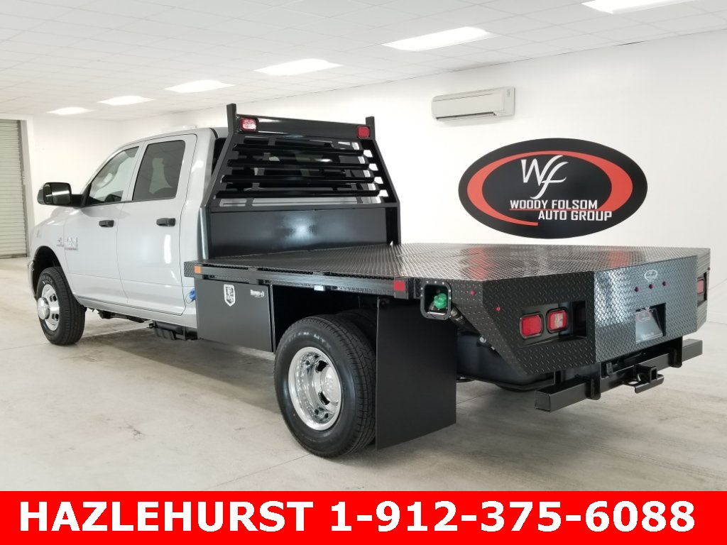 2018 Ram 3500 Crew Cab DRW 4x4,  Commercial Truck & Van Equipment Platform Body #DT022681 - photo 2