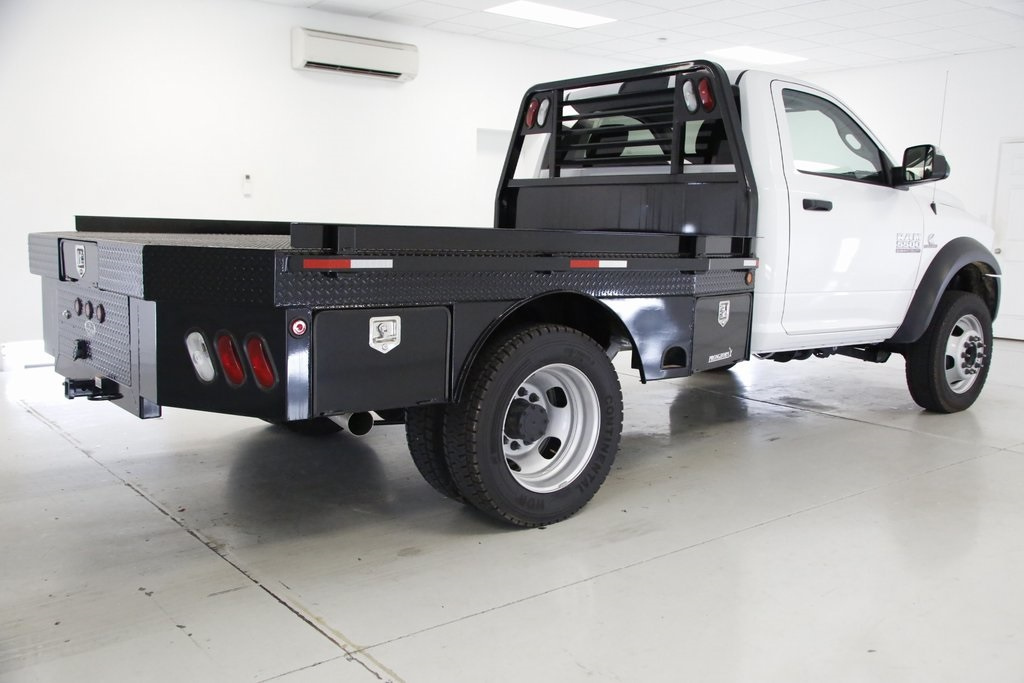 2016 Ram 5500 Regular Cab DRW 4x4,  Pronghorn Platform Body #DT030563 - photo 6