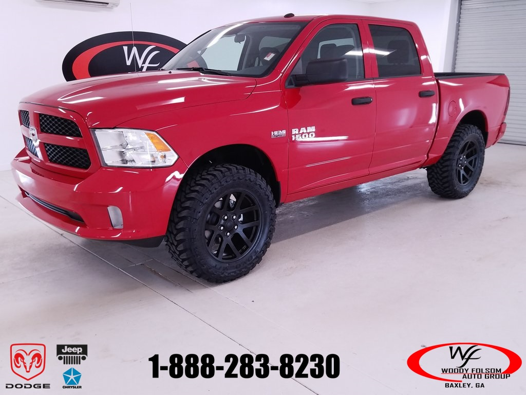 2018 Ram 1500 Crew Cab 4x4,  Pickup #DT032883 - photo 1
