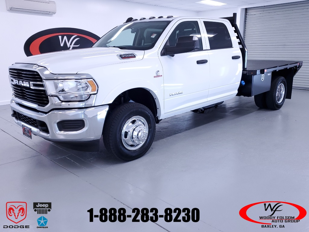 2020 Ram 3500 Crew Cab DRW 4x4, Commercial Truck & Van Equipment Platform Body #DT081302 - photo 1