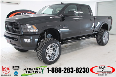 2018 Ram 2500 Crew Cab 4x4, Pickup #DT090674 - photo 1