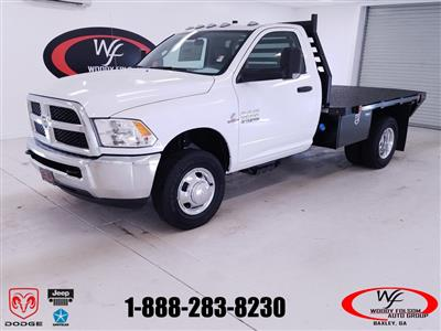 2018 Ram 3500 Regular Cab DRW 4x4,  Commercial Truck & Van Equipment Gooseneck Platform Body #DT100881 - photo 1