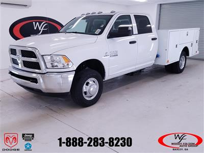 2018 Ram 3500 Crew Cab DRW 4x4,  Warner Select II Service Body #DT101383 - photo 1