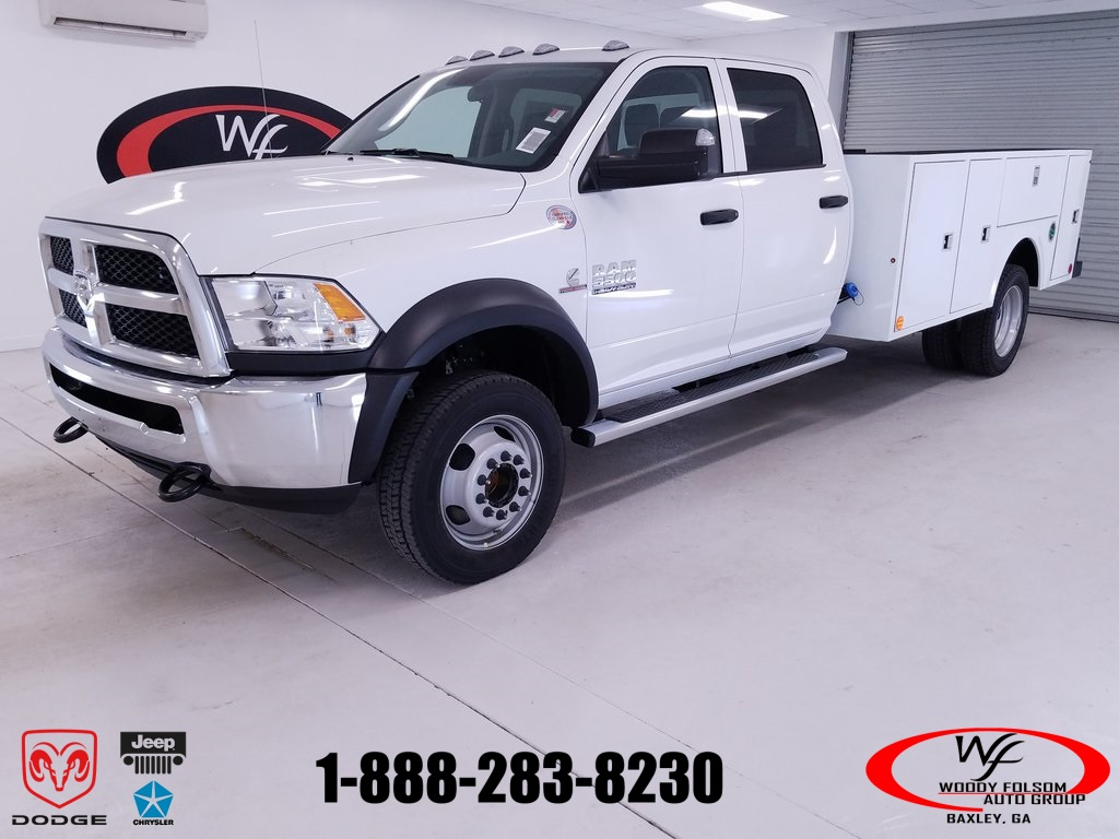 2018 Ram 5500 Crew Cab DRW 4x4,  Warner Select II Service Body #DT111587 - photo 1