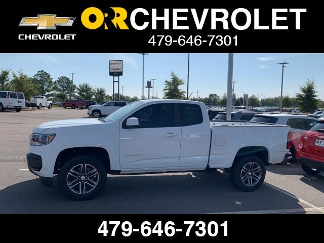2021 Chevrolet Colorado Extended Cab RWD, Pickup #118677 - photo 1