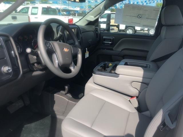 2019 Silverado 3500 Regular Cab DRW 4x4,  Cadet Western Platform Body #119247 - photo 3