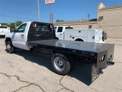 2019 Silverado 3500 Regular Cab DRW 4x2,  Custom Equipment Company Platform Body #159497 - photo 2