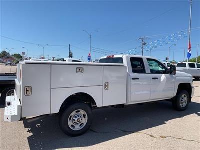 2019 Silverado 2500 Double Cab 4x2,  Stahl Service Body #180678 - photo 2