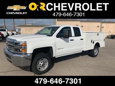 2019 Silverado 2500 Double Cab 4x2, Stahl Service Body #234359 - photo 1
