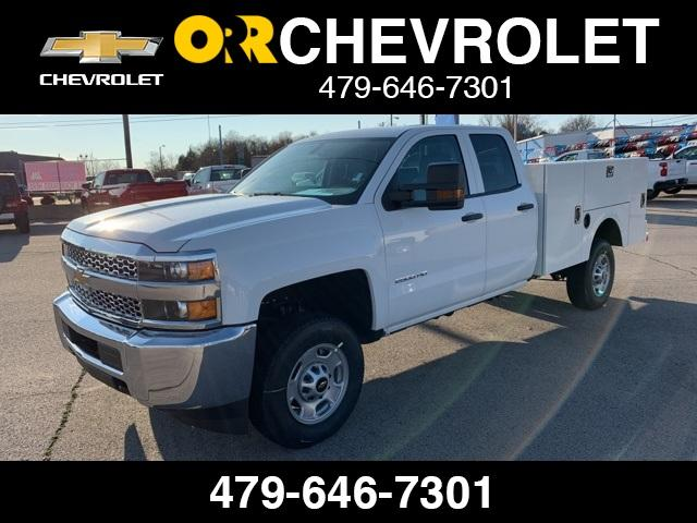 2019 Silverado 2500 Double Cab 4x2, Stahl Service Body #238902 - photo 1