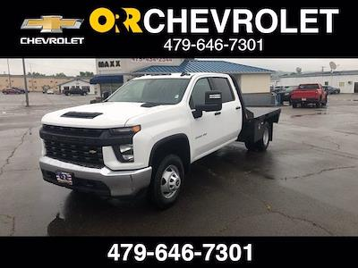 2021 Chevrolet Silverado 3500 Crew Cab 4x2, CM Truck Beds RD Model Platform Body #243001 - photo 1