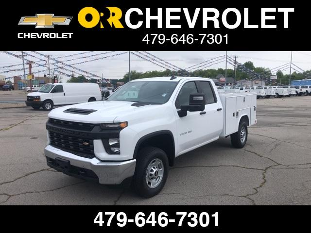 2020 Chevrolet Silverado 2500 Double Cab 4x4, Reading SL Service Body #245058 - photo 1