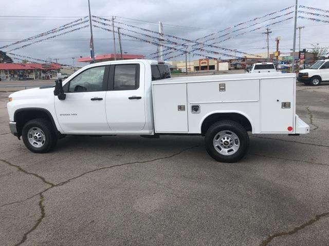 2020 Silverado 2500 Double Cab 4x4, Reading SL Service Body #245071 - photo 4
