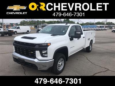 2020 Silverado 2500 Double Cab 4x4, Reading SL Service Body #245071 - photo 1