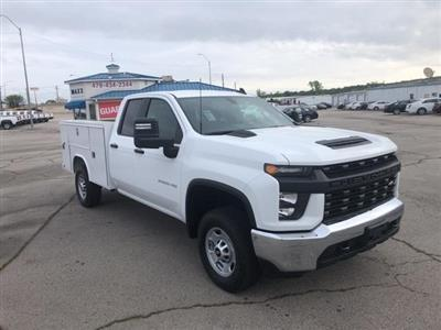 2020 Silverado 2500 Double Cab 4x4, Reading SL Service Body #245071 - photo 3