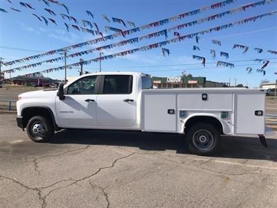 2020 Chevrolet Silverado 3500 Crew Cab DRW 4x4, Knapheide Service Body #284633 - photo 3