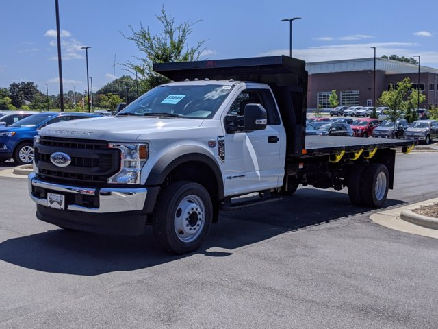 2020 Ford F-550 Regular Cab DRW RWD, PJ's Platform Body #T080742 - photo 1
