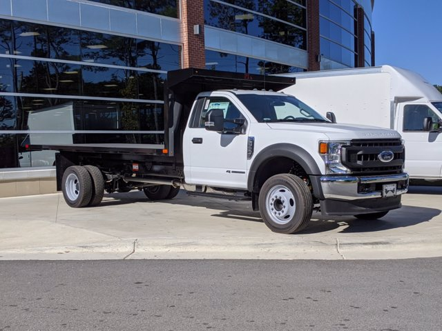 2020 Ford F-550 Regular Cab DRW 4x2, PJ's Platform Body #T081009 - photo 1