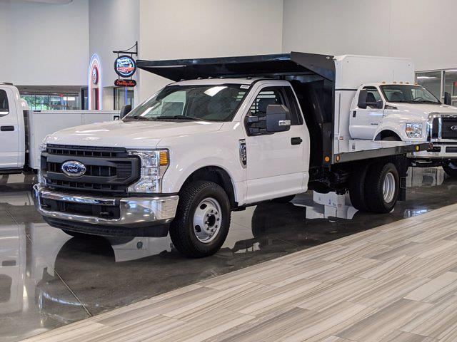 2020 Ford F-350 Regular Cab DRW 4x2, Freedom Landscape Dump #T081122 - photo 1