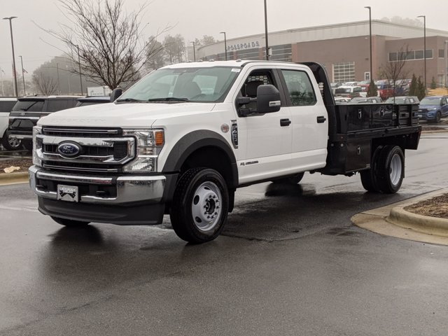 2021 Ford F-450 Crew Cab DRW 4x4, Knapheide Platform Body #T180152 - photo 1