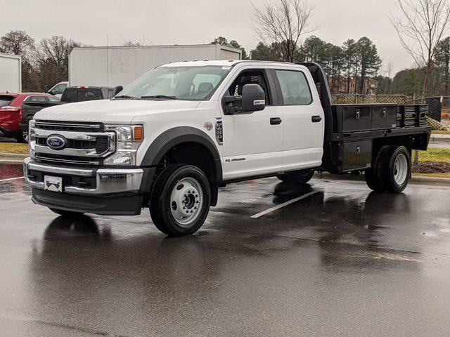 2021 Ford F-450 Crew Cab DRW 4x4, Platform Body #T180243 - photo 1