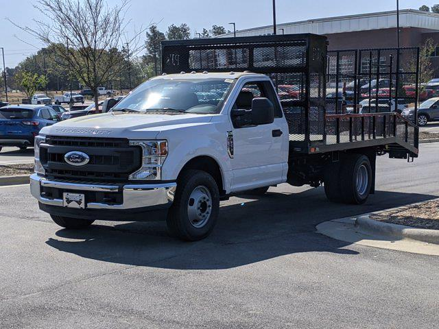 2021 Ford F-350 Regular Cab DRW 4x2, PJ's Dovetail Landscape #T180285 - photo 1