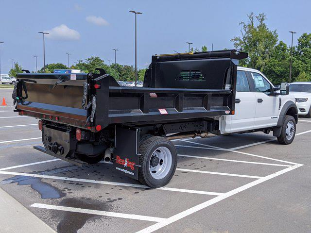 2021 Ford F-450 Crew Cab DRW 4x4, Crysteel Dump Body #T180350 - photo 1