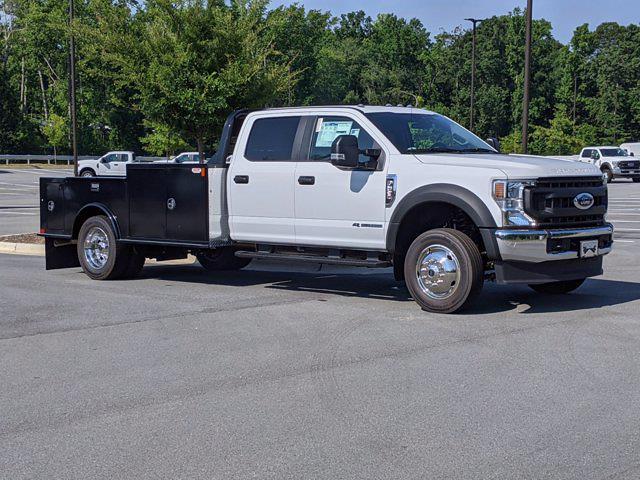 2021 Ford F-550 Crew Cab DRW 4x2, CM Truck Beds Platform Body #T180776 - photo 1