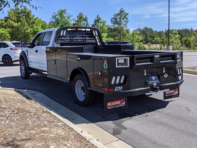 2021 Ford F-550 Crew Cab DRW 4x2, CM Truck Beds Platform Body #T180436 - photo 1