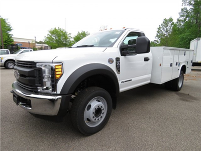 2017 F-450 Regular Cab DRW, Knapheide Standard Service Body Service Body #T789782 - photo 1