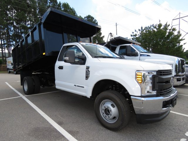 2017 F-350 Regular Cab DRW 4x4, PJ's Truck Bodies & Equipment Landscape Dump #T789879 - photo 4