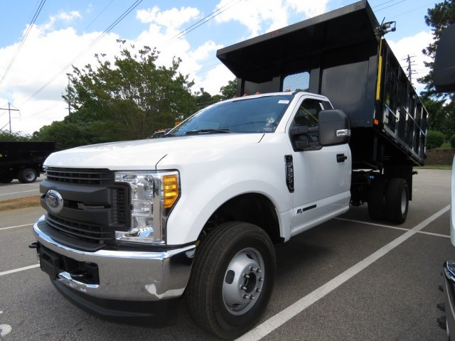 2017 F-350 Regular Cab DRW 4x4, PJ's Truck Bodies & Equipment Landscape Dump #T789879 - photo 3