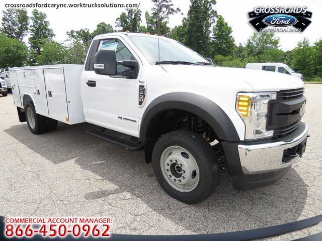 2017 F-450 Regular Cab DRW 4x4, Reading SL Service Body #T790016 - photo 12